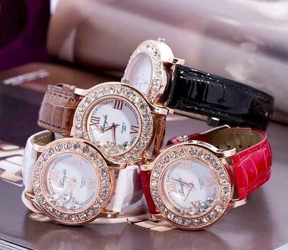 Модные женские часы Сваровски  -  скидки от магазина 50%