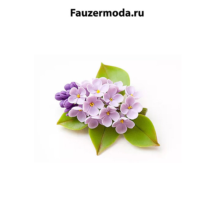 Брошь в виде цветка  для  праздника или подарка