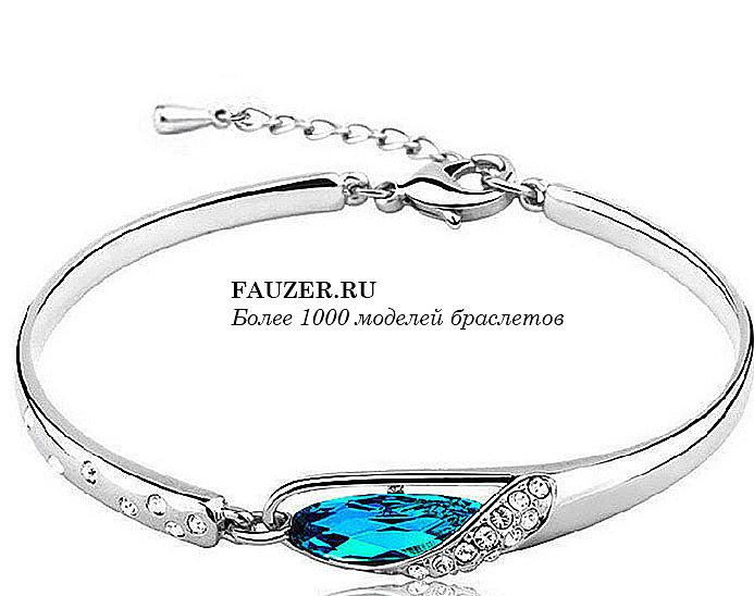 Как выбрать и где купить серебристый модный браслет