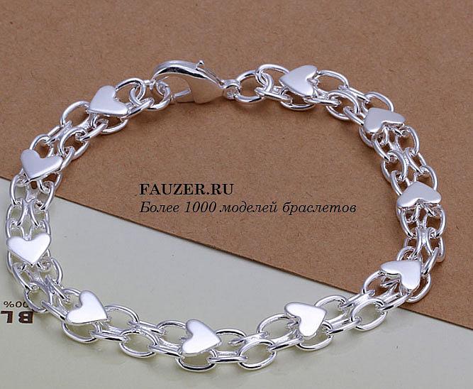 Очень красивые плетения браслетов из золота и серебра