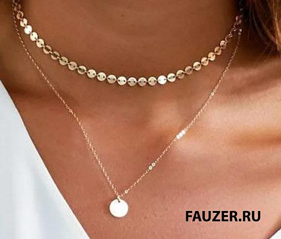 Модные и стильные украшения для женщин на шею по лучшим ценам