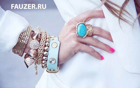 Недорогие женские браслеты для женщин -   брендовые украшения из золота и серебра!