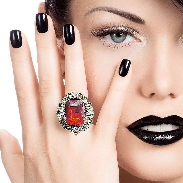 Купить кольцо с камнем