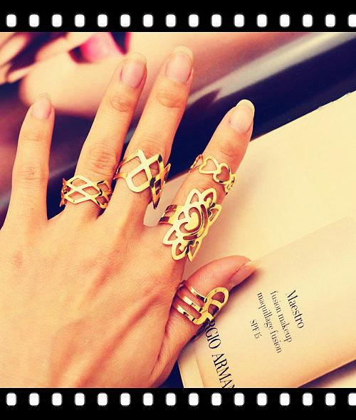 Кольца без камней от Fauzer