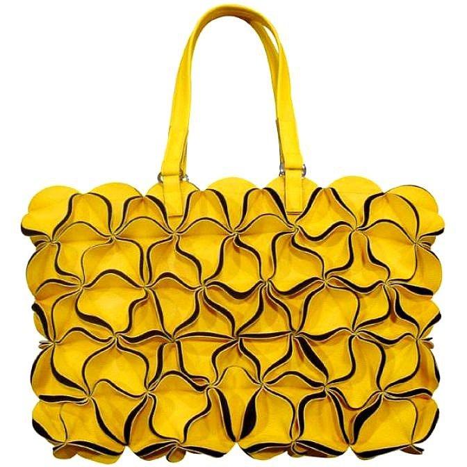 Желтая сумка Fauzer