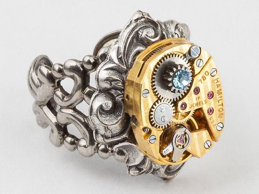 Необычные ювелирные кольца в интернет магазине Fauzer.ru