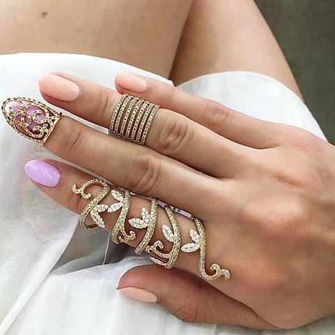 Кольца Fauzer на верхнюю фалангу пальца