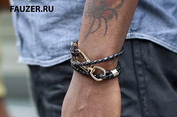 Мужские браслеты из стали фото