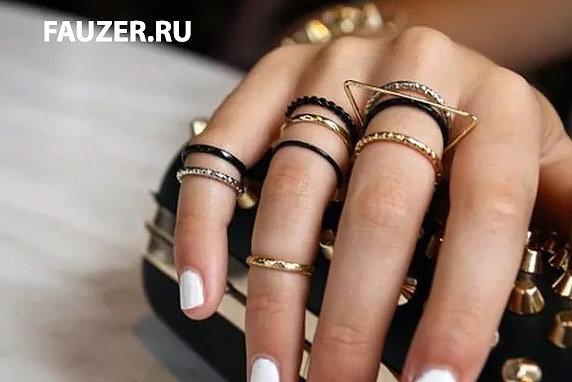 Красивые нарядные кольца для женщин