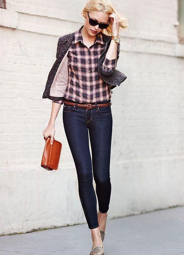 Как выглядеть дорого, покупая недорогую бижутерию? джинсы блузка