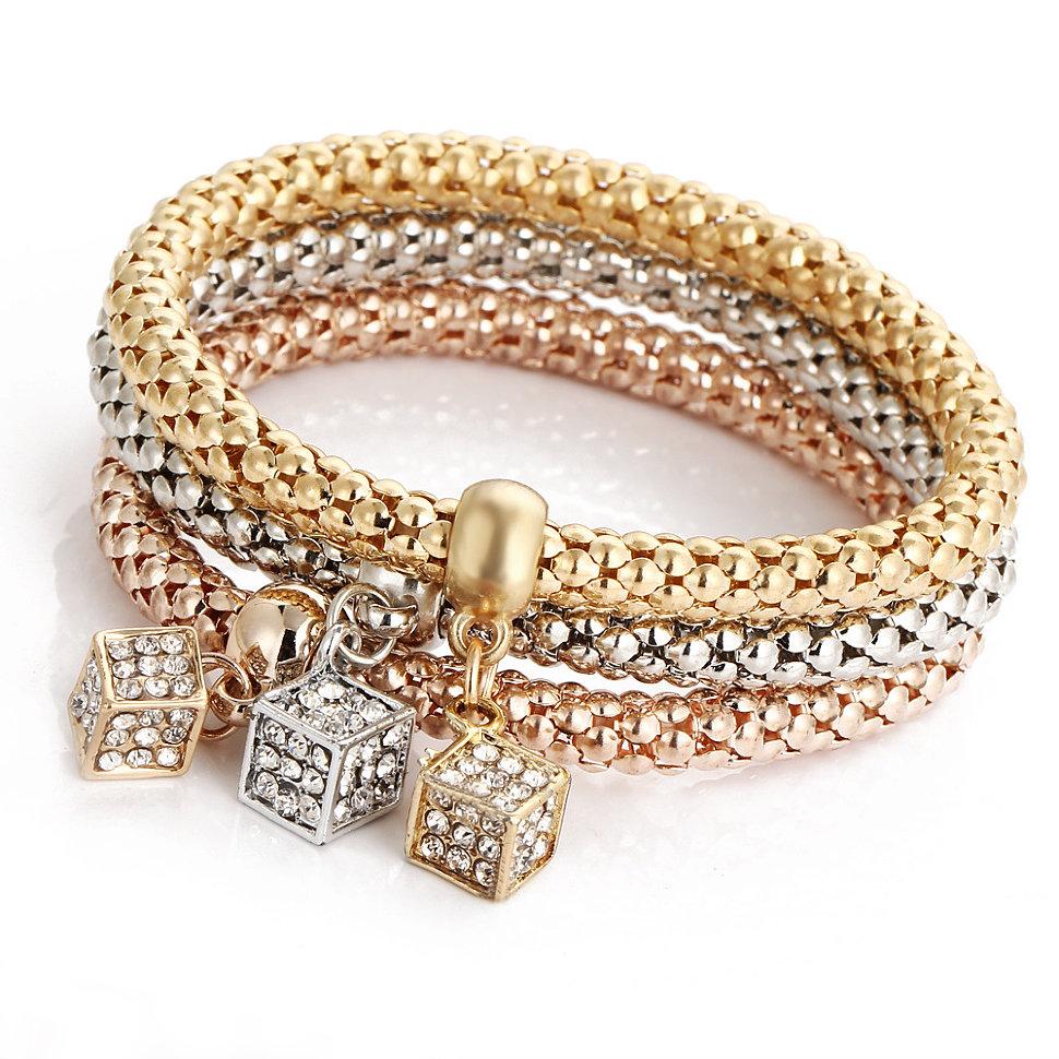 Позолоченные браслеты Fauzer