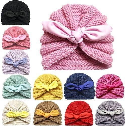 Детские повязки на голову с бантами и цветами