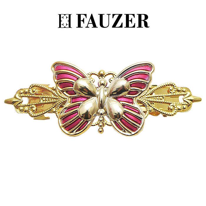 Металлическая заколка для волос Fauzer бабочка