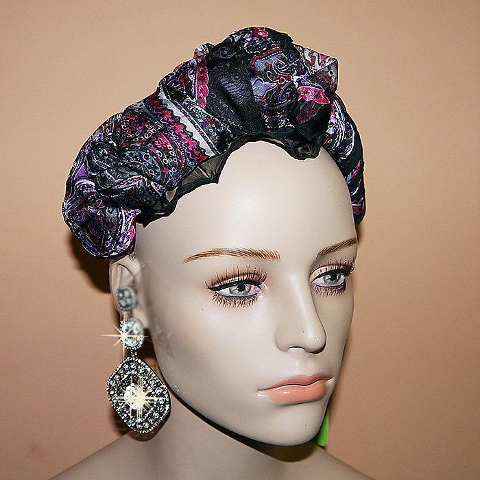 0cdd0aab432e Модный платок ободок на голову из шелка аксессуар для женщин фирменный -  Красивый ...